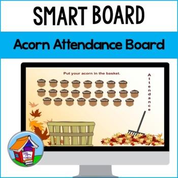 Fall Acorns Attendance Board