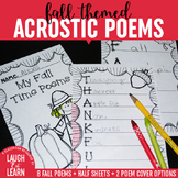 Fall Acrostic Poems