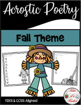 Fall Acrostic Poetry