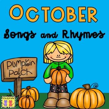 October Songs & Rhymes: Sunflowers, Autumn, Pumpkins, Fire Safety, Halloween