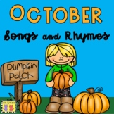 October: Songs & Rhymes