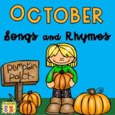 October: Songs & Rhymes