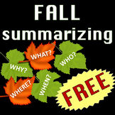 Fall Activities free fall worksheets