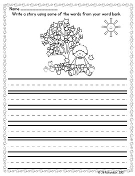 Fall Writing with Labels!  ELL Writing ESL Writing ESL Worksheets