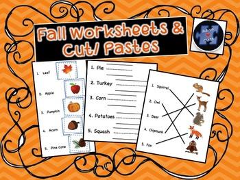 Fall Worksheets