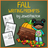 Fall Writing Activities (Fall Writing Prompts Kindergarten, 1st, 2nd Grade)