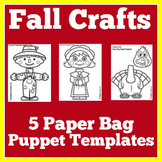 Fall Craftivities Crafts