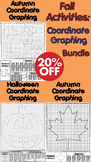 Autumn Math Activities Bundle: First Day of Fall Coordinate Graphing Pictures