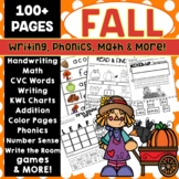 Fall Activities Kindergarten