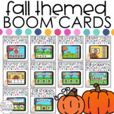 Fall Activities Boom™ Cards BUNDLE: Distance Learning for