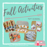 Fall Activities Bundle **Tot School**