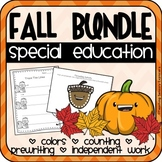 Fall Activities Bundle for Special Education
