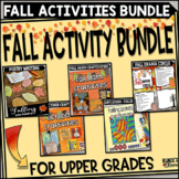 Fall Activities Bundle for Upper Grades
