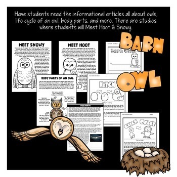 Fall Activities Bundle with Owls, Bats, and Pumpkin Units - Fall Centers