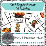 Fall Activities Clip It Music Center