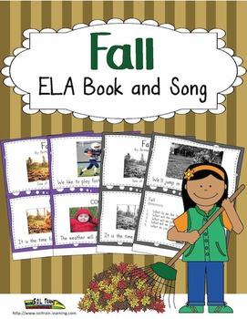 Fall Activities ELA Book and Song