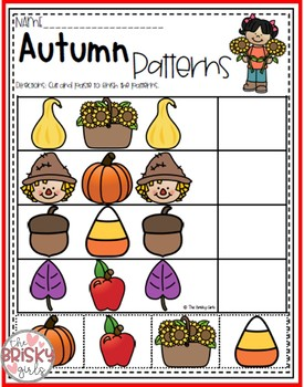 Fall Activities (Fall Math and Literacy Packet)