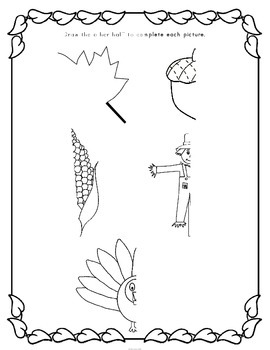 Fall Activities First Grade (Literacy & Math)