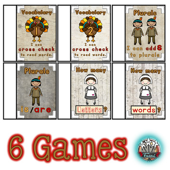 Thanksgiving Activities for Kindergarten: Games, Centers, Printables