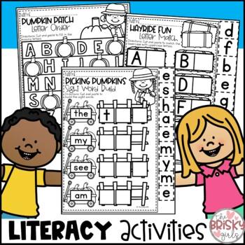 Fall Activities Kindergarten