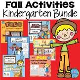 Fall Activities Kindergarten Bundle - 9 Resources!