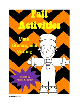 Fall Activities {Math, Literacy, and Writing}
