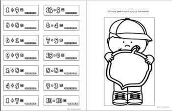 Back to School Fall Activities My Own Word Problems! Grades 1 - 3  Lesson Plan