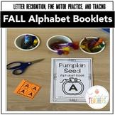Fall Activities { Print & Go Pumpkin Alphabet Booklets } P