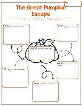 Fall Activities: Pumpkin Writing Prompts  (Persuasive & Narrative)