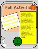 Fall Activities Reading, Writing, Crafts, Math