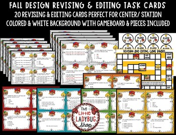 Revising and Editing - Fall Center Activity - STAAR Writing