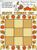 Fall Activities: Squirrels & Acorns Fall-Thanksgiving Tic-Tac-Toe Game