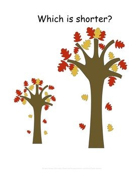 Fall Activities Unit - Vocabulary, What Comes Next? Size Words, and Patterning
