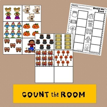 Fall Activities Fall Write the Room Fall Count the Room