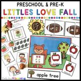 Fall Activities and Centers for Preschool, Pre-K, & Kindergarten