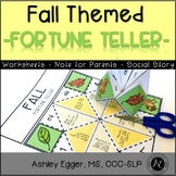 Social Skill Fortune Teller: Speech and Language Therapy