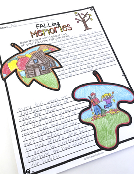 Fall Activities and Glyphs: Fall Crafts, Fall Writing and more!