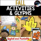 Fall Activities and Glyphs: Fall Crafts, Fall Art Projects, Fall Writing