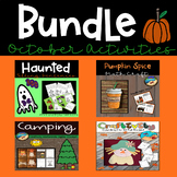 Halloween Crafts for First Grade: Bundle of Craftivities and More