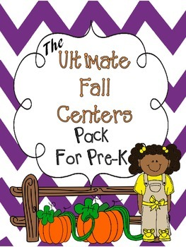 Fall Activities and Worksheets for Pre-K