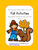 Fall Activities for 2's and 3's