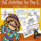 Fall Activities for PreK Reading & Math