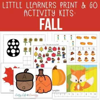 Fall Activities for Preschool
