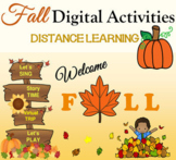 Fall Activities with Virtual Field Trip Distance Learning