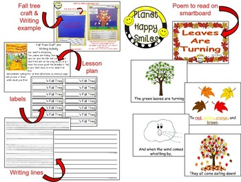 Fall Activity ~ Writing, Craft and Poetry: Leaves are Turning