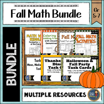 Fall Math Bundle