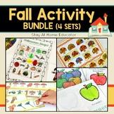 Fall Activity Bundle - Fall Preschool Centers