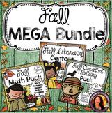 Fall MEGA Bundle: Fall Centers, Fall Math & Fall Creative Thinking