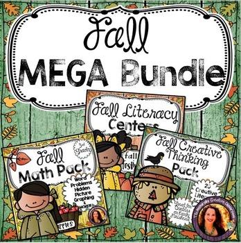 Fall MEGA Bundle: Fall Centers, Fall Math & Fall Creative