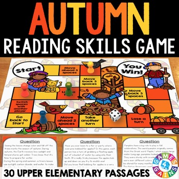 Fall Activity: Fall Reading Game